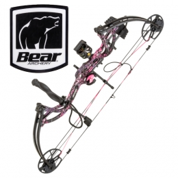 Bear Archery - Cruzer G-2 RTH Compoundbogen Set RH muddy girl