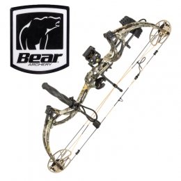 Bear Archery - Cruzer G-2 RTH Compoundbogen Set LH realtree edge